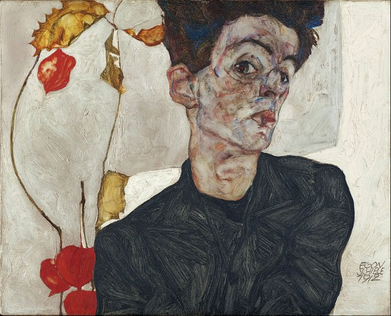 Self-Portrait with Physalis, preuzeto sa: Google Art Project
