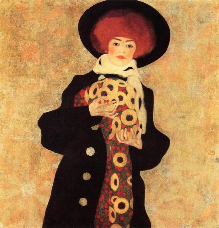 Woman with black hat, www.wikiart.org