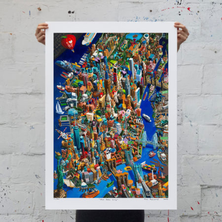 New York City - print na papiru - L - neuramljen