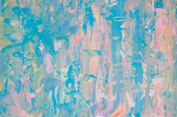 Galaxy B, 100x150cm, akrilne boje na platnu, 2019