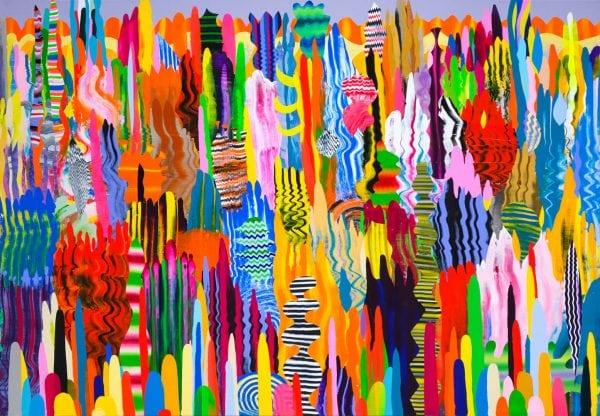 Lovejoy 2, 150x215cm akrilne boje na platnu, 2019. (Zepter kolekcija)